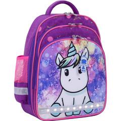 Рюкзак школьный Bagland Mouse 339 фиолетовый 428 (0051370)
