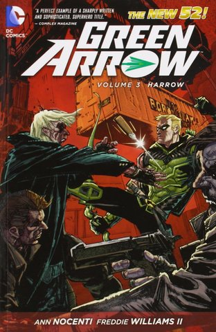 Green Arrow Vol.3: Harrow (The New 52)