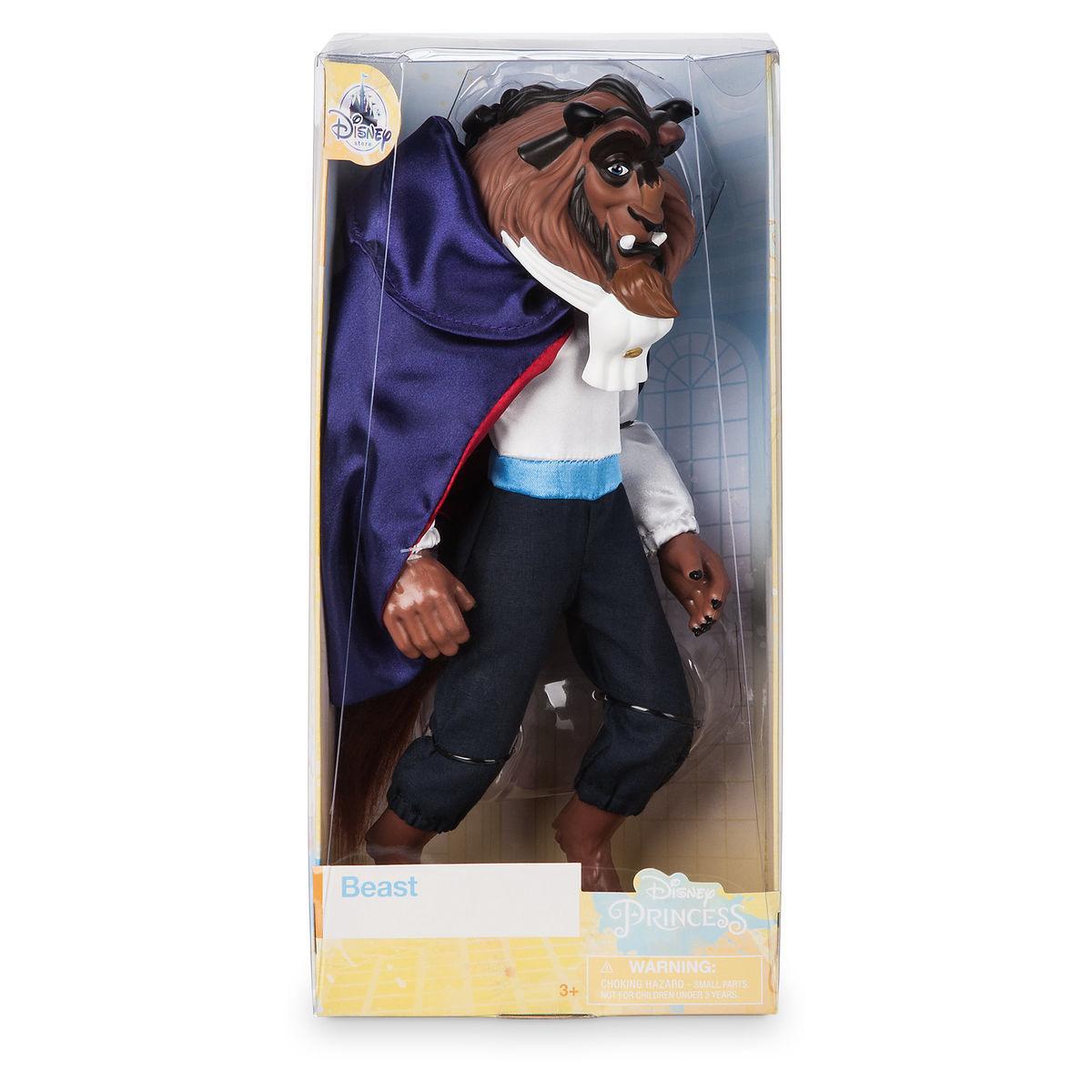 Кукла Зверь Красавица и чудовище - Disney Classic Doll