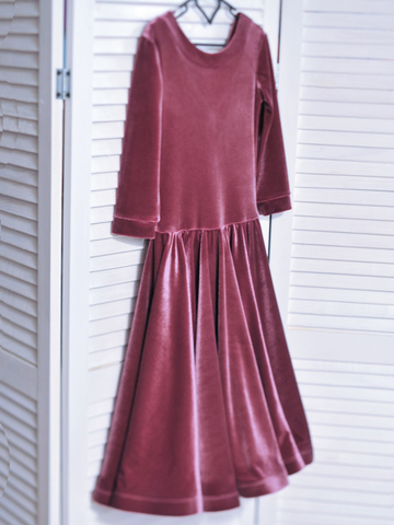 Рейтинговое платье арт.Re24бархат