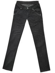 5591 джинсы женские, черные