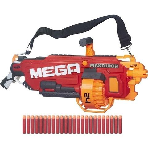Бластер Nerf N-strike «Мега Мастодон» B8086 — Nerf N-Strike Mega Mastodon — Нерф Нёрф Нерв