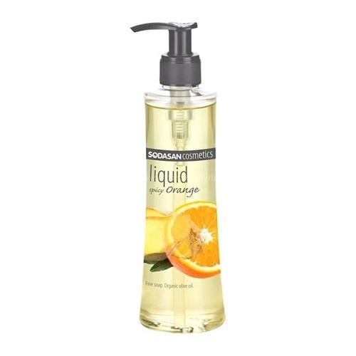 Жидкое мыло, Sodasan, Пряный апельсин, 250 мл
