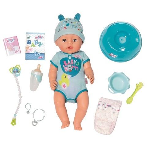 Беби Бон Кукла Интерактивная Мальчик 43 см