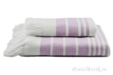 Полотенце 100х180 Hamam Marine Towel лаванда