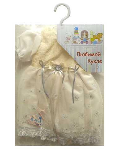 Платье из тафты - Упаковано. Одежда для кукол, пупсов и мягких игрушек.