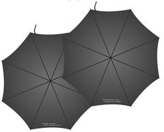 Складной зонт с цитатой
