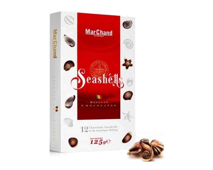 Шоколадные конфеты «Ракушки» MarChand, 125 г