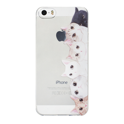 Чехол для IPhone 5/5S Cat