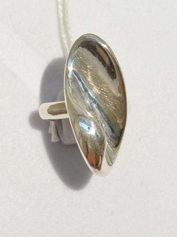 Завитульки (кольцо из серебра)