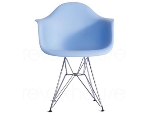 стул eames dar effel голубой