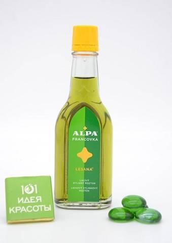 Alpa францовка Лесана - спиртовой травяной раствор (при ревматизме и простудах)