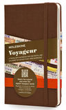 Блокнот Moleskine Voyageur Pocket 115x180мм 208стр обложка текстиль коричневый (VN001P4)