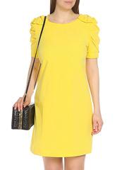 WD2453F-4 платье женское, желтое