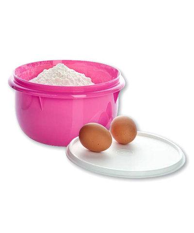 замесочное блюдо 2л в розовом цвете tupperware