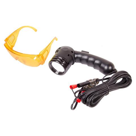 МАСТАК (105-70000) Фонарь ультрафиолетовый и очки для поиска утечек фреона