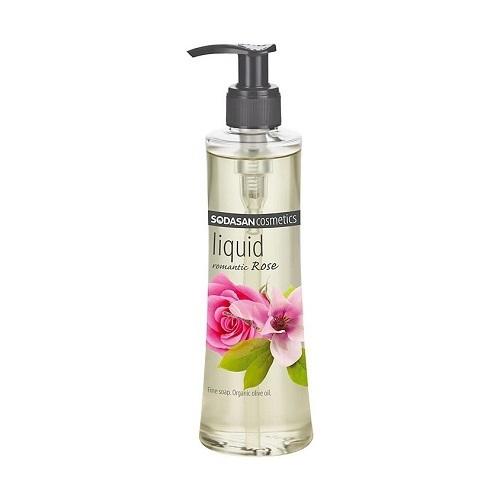 Жидкое мыло, Sodasan, Романтическая роза, 250 мл