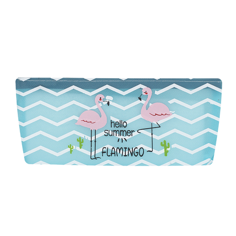 Пенал Clear Flamingo Blue