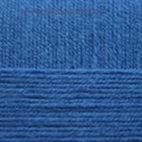 Пряжа Хлопок натуральный (Пехорка) василек 26