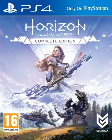 Sony PS4 Horizon Zero Dawn. Complete Edition (русская версия)