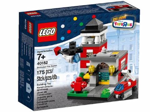 LEGO Exclusive: Пожарное депо 40182 — Bricktober Fire Station — Лего Эксклюзив