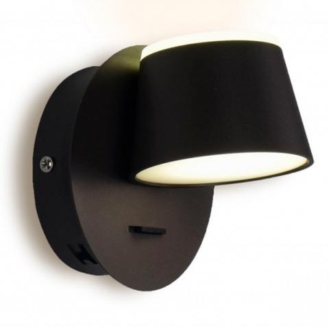Настенный светодиодный светильник Ambrella FW168 CF/S кофе/песок LED 4200K 10W 120*120*140