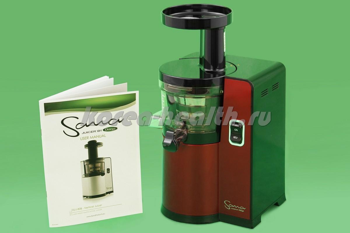 Omega Sana Slow Juicer Euj 808 : Sana Juicer by Omega EUJ-808 ???????