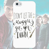 Чехол для iPhone 7+/7/6s+/6s/6+/6/5/5s/5с/4/4s DON'T LET THE MUGGLES GET YOU DOWN
