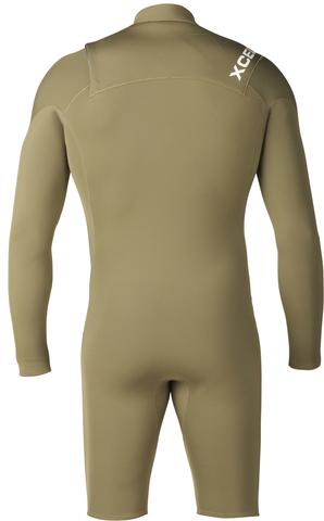 Короткий мужской гидрокостюм 2mm Infiniti COMP X2 L/S Springsuit