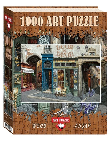 Puzzle Cafe Leon (Wooden) 1000 pcs