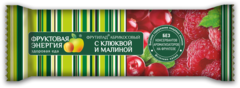 """Фруктовый батончик Фрутилад """"Клюква-Малина"""" 30г"""