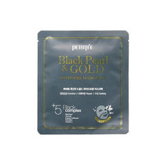 Гидрогелевая маска Petitfee Black Pearl & Gold Hydrogel Mask Pack, 30 мл
