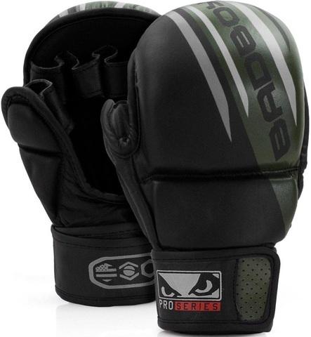 Перчатки для MMA Bad Boy Pro Series Advanced Safety Gloves-Black