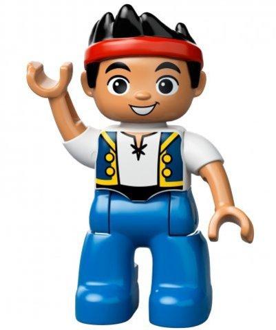 LEGO Duplo: Пиратский корабль Джейка 10514