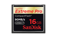 Sandisk Extreme Pro CF 90MB/s 16 GB