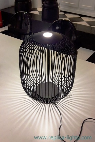 replica FOSCARINI SPOKES table lamp ( black )