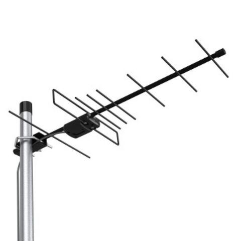 ТВ антенна активная 5V Locus Эфир-08AF Turbo (L035.08DT) цифровая DVB-T2 на 30-50 км