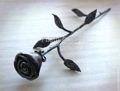 """Кованный цветок """"Роза"""""""