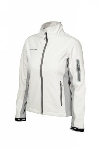 Лыжная утепленная куртка Mormaii (White/Light Grey)