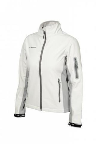 Mormaii White-Light Grey женская утепленная куртка