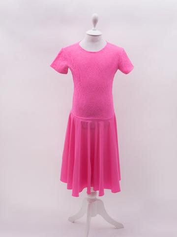 Рейтинговое платье Re6/4 с гипюром