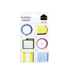 Стикеры Schedule Marker Colorful