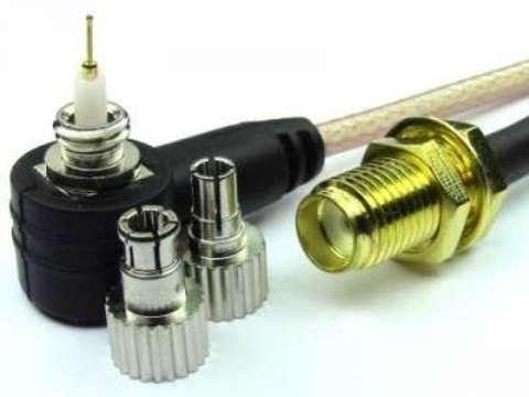Антенный адаптер (пигтейл) SMA-female/TWIX (CRC9/TS9)