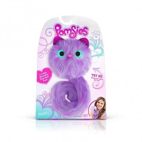 Pomsies Speckles, фиолетовый котенок Помси оригинал