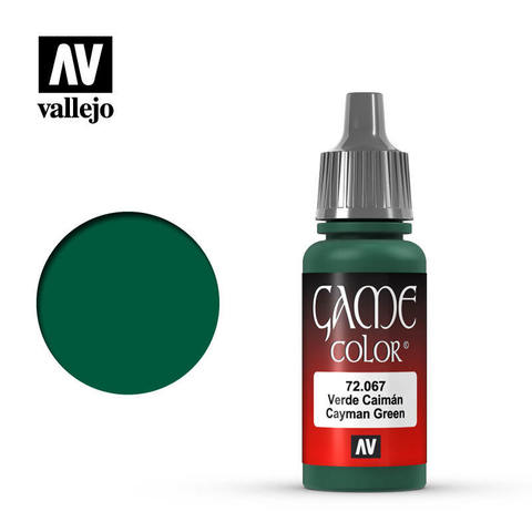 Game Color Cayman Green 17 ml.