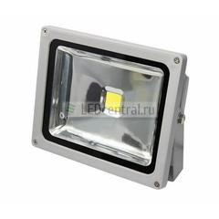 Прожектор уличный LED, Cold White, 30W, AC85-220V/50-60Hz, 2100 Lm, IP65. LUX