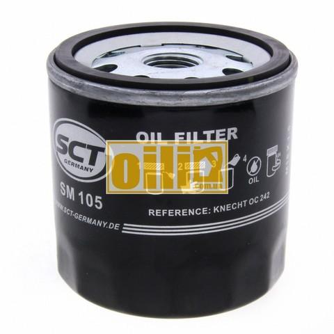 Фильтр масляный SCT SM105 (Lada, Opel, Lanos)