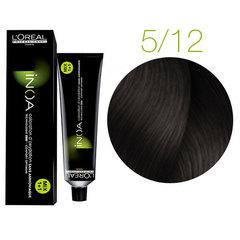 L'Oreal Professionnel INOA 5.12 (Светлый шатен пепельно-перламутровый) - Краска для волос