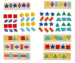 Комплект геометрических фигур