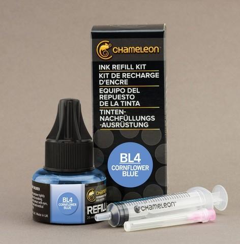 Чернила для маркеров Chameleon васильково-синие BL4, 25 мл